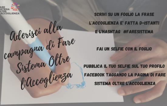 La campagna sociale di FSOA