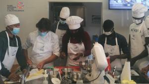 Lo chef Mastronardi insegna ai ragazzi FSOA